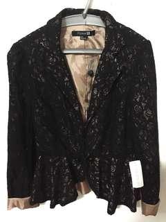 F21 lace blazer