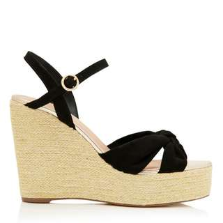 Forever New Cassie Knot Vamp Espadrille Wedges size 39 (8)