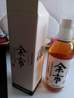 已停產,绝版白頭余市威士忌500mI連盒(日版)
