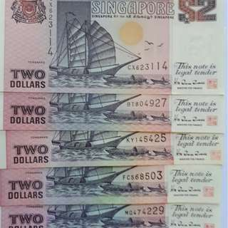 $2 Currency