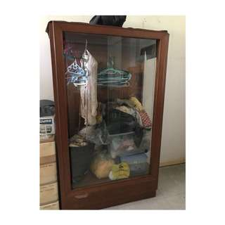 Narra Glass Cabinet (F)