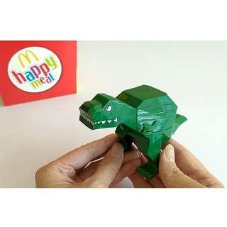 🆕McD T-Rex #TOYS50