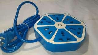 USB Hexagon Socket 4 Sockets 4 USB Port