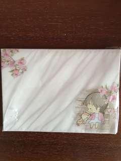 Brand new printed envelopes