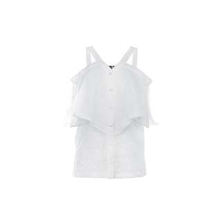 LIE - 白色露肩上衣