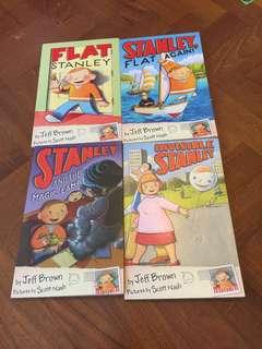 Flat stanley books 5 books