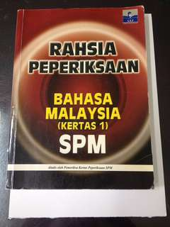 RAHSIA PEPERIKSAAN Bahasa Malaysia