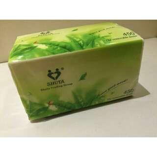 Shuta facial tissue (450 sheets)