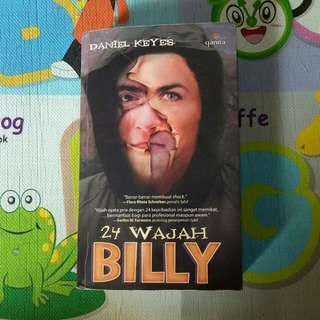 Novel 24 Wajah Billy - Langka