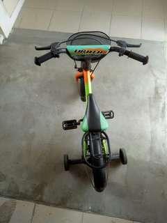 Children training bicycle