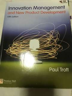 Innovation Management and New Product Development - 5th Edition