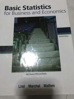 Basic Statistics for Business and Economics - 7th Edition
