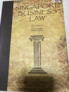 Singapore Business Law - 5th Edition