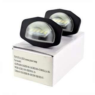 Toyota Carplate LED light