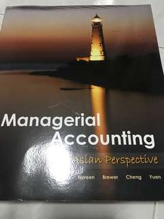 Managerial Accounting: An Asian Perspective