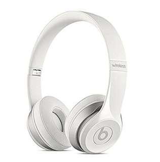 全新 有單 一年保Beats Solo2 wireless White