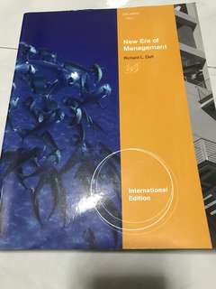 New Era of Management - 10th Edition