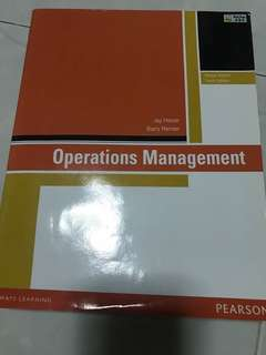 Operation Management - Global Edition / 10th Edition