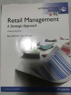 Retail Management: A Strategic Approach - 12th Edition