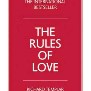 Rules of Love by Richard Templar non fiction