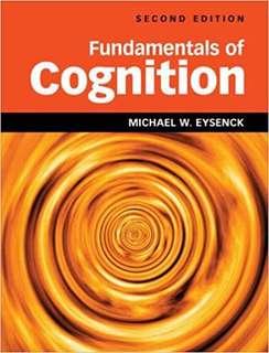 PL3233 Cognitive psychology
