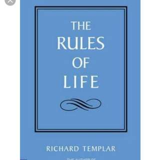 Rules of Life by richard templar non fiction