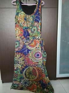 Preloved printed dress
