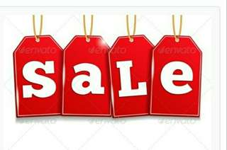 SALE!!!! LESS 10% DISCOUNT ON ALL ITEMS FROM MAY 5 TO MAY 29
