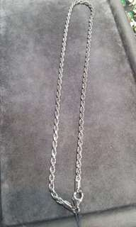925 sterling silver rope chain