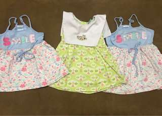 3pcs Baby Girl's Dress