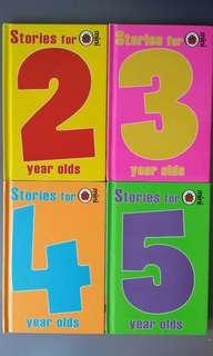 4 For $10 Ladybird Children Books