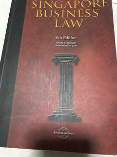 Singapore Business Law - 6th Edition