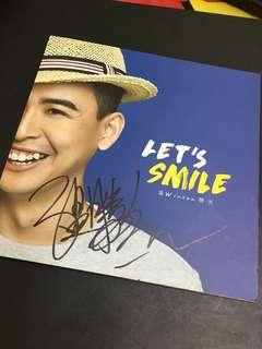 温胜光 Let's Smile 签名CD