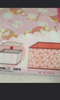 My Melody 硬紙收納盒