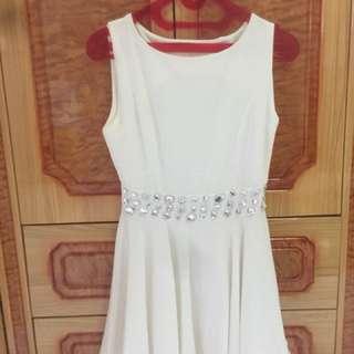 Dress White Blink Blink
