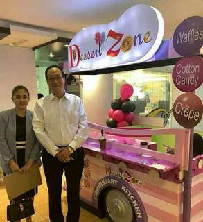 Dessert Zone now Open fo Franchise
