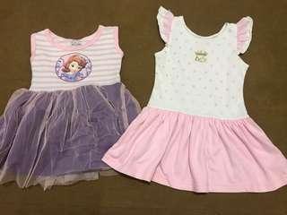2pcs Baby Girl's Dress