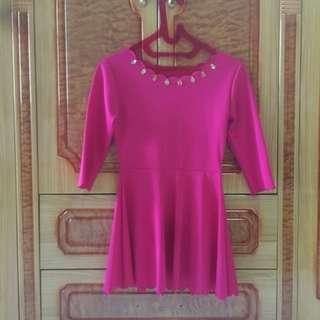 Dress Pink Muanjahh