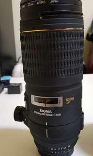 Sigma 180mm f3.5 D HSM IF Macro for Nikon mount