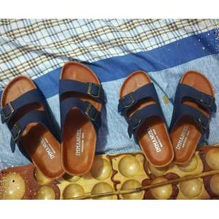 Two Strap and Elephant Nose Sandals