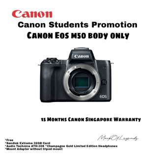 Canon EOS M50 Body Only