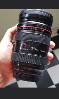 Canon EF 24-70 f2.8L USM Lena