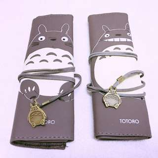 Roll Up Totoro Pen Pencil Storage Bag