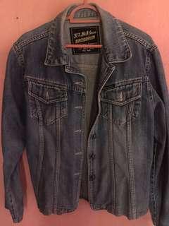 Oversize Jeans jacket tebal