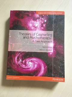PL4229 Theories of Counseling and Psychotherapy Textbook