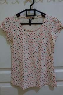 Love pattern tshirt