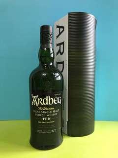 Ardbeg 10年 威士忌鐵盒裝