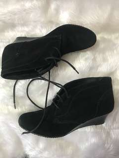 Size 7 Black Ankle Booties