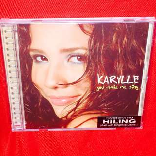Karylle	-	You Make Me Sing CD