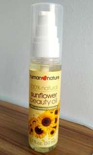 Human Nature 100% Sunflower Beauty Oil 50ml 🌻
